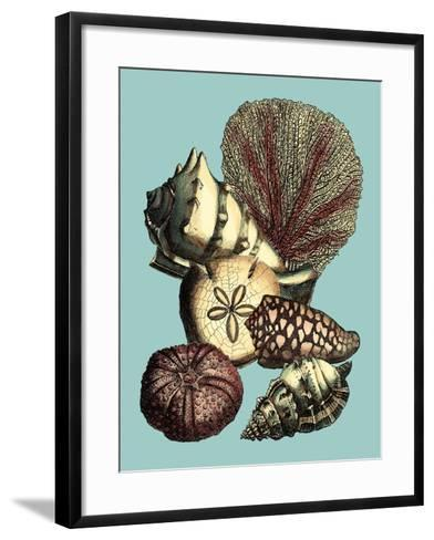 Printed Shell & Coral Collection I-Vision Studio-Framed Art Print