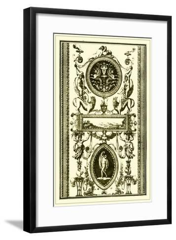 Ivory Screen II-Vision Studio-Framed Art Print