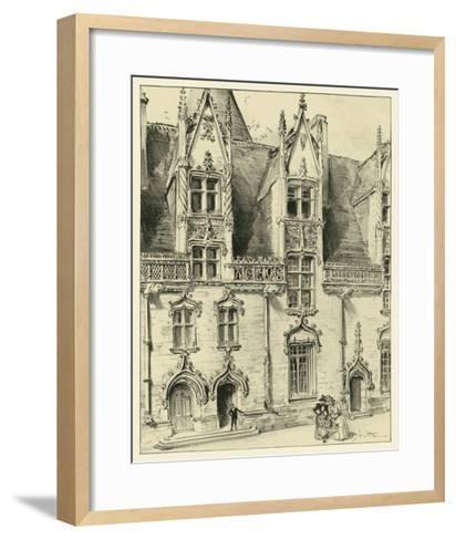 Ornate Facade II-Albert Robida-Framed Art Print