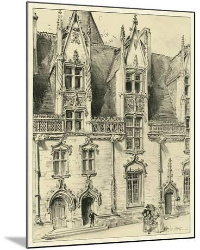 Ornate Facade II-Albert Robida-Mounted Art Print