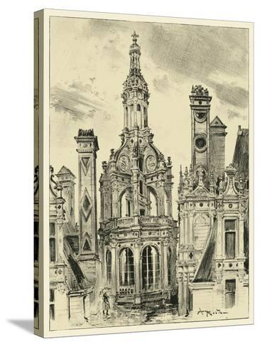 Ornate Facade III-Albert Robida-Stretched Canvas Print