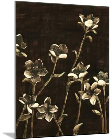 Blossom Nocturne II-Megan Meagher-Mounted Art Print
