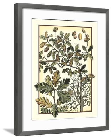 Arts and Crafts Oak-M^P^ Verneuil-Framed Art Print