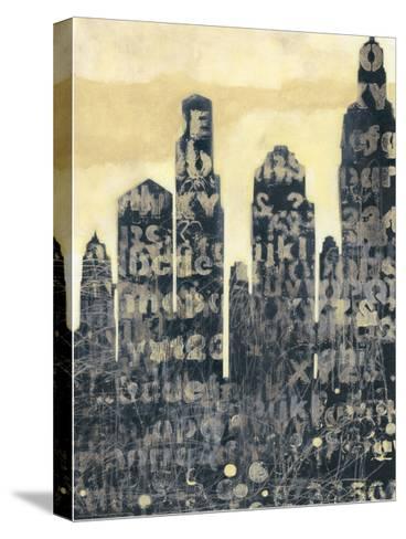 Concrete II-Norman Wyatt, Jr^-Stretched Canvas Print