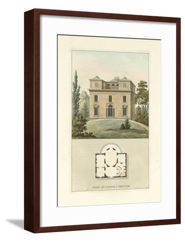 Architectural Detail II-Vision Studio-Framed Art Print