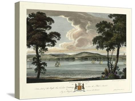 Powderham Castle-Richard Polwhele-Stretched Canvas Print