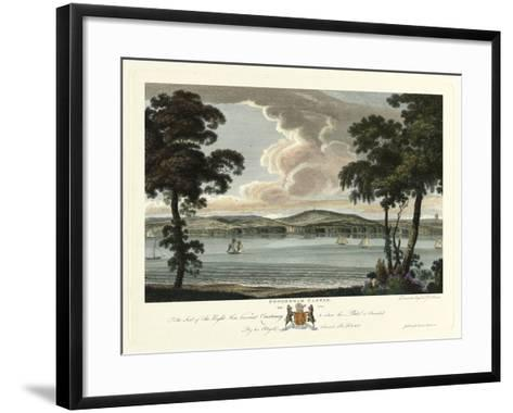 Powderham Castle-Richard Polwhele-Framed Art Print