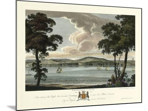 Powderham Castle-Richard Polwhele-Mounted Art Print