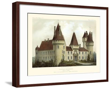 French Chateaux I-Victor Petit-Framed Art Print