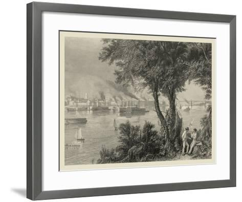 Scenic City Views IV-A.C. Warren-Framed Art Print