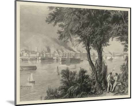 Scenic City Views IV-A.C. Warren-Mounted Art Print