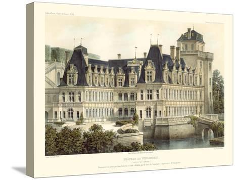 French Chateaux V-Victor Petit-Stretched Canvas Print