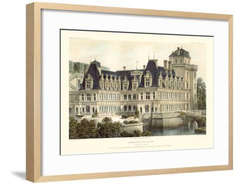 French Chateaux V-Victor Petit-Framed Art Print