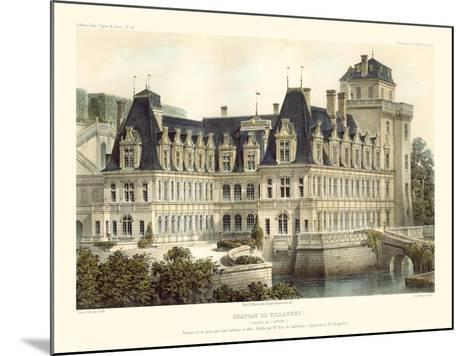 French Chateaux V-Victor Petit-Mounted Art Print