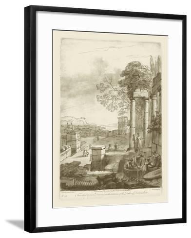 Pastoral View II-Claude Lorraine-Framed Art Print