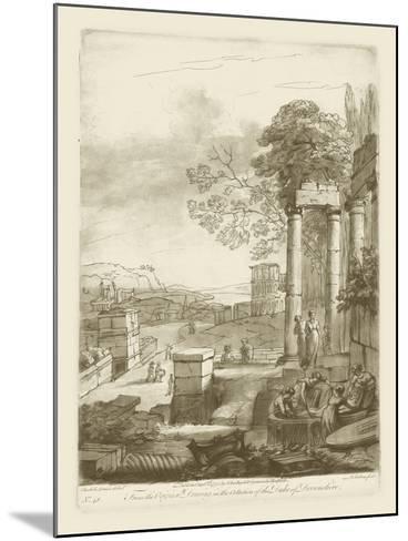 Pastoral View II-Claude Lorraine-Mounted Art Print