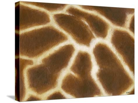 Giraffe I-Norman Wyatt, Jr^-Stretched Canvas Print