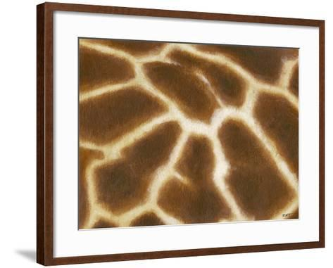 Giraffe I-Norman Wyatt, Jr^-Framed Art Print