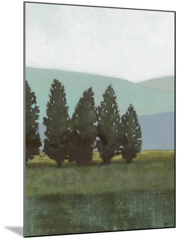 Evergreen I-Norman Wyatt Jr^-Mounted Art Print