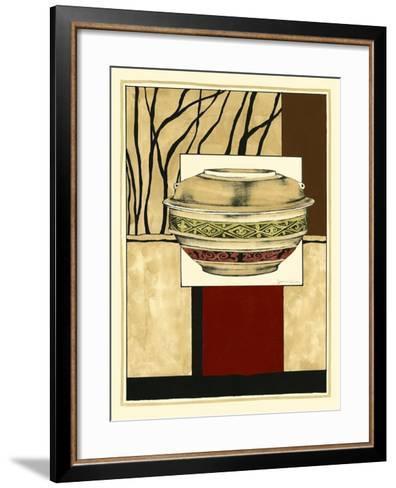 Printed Porcelain Garden II-Jennifer Goldberger-Framed Art Print