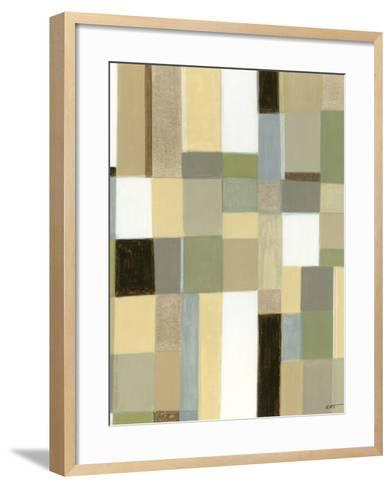 Eco-Abstract II-Norman Wyatt Jr^-Framed Art Print