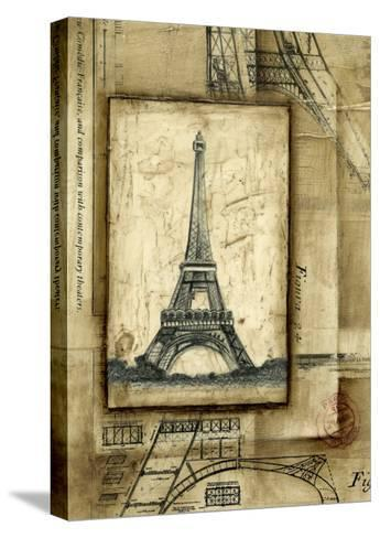 Passport to Eiffel-Ethan Harper-Stretched Canvas Print