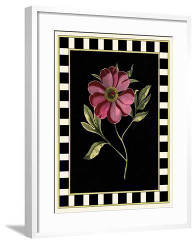 Besler Pink Peony I-Besler Basilius-Framed Art Print