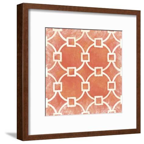 Modern Symmetry VIII-Chariklia Zarris-Framed Art Print