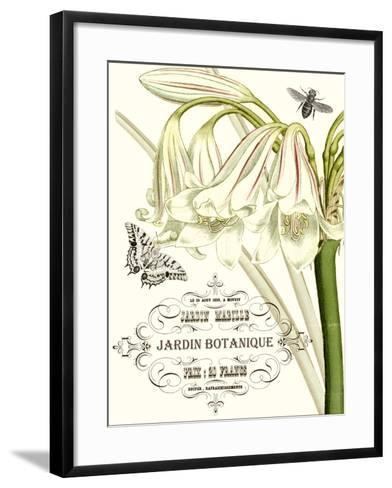 Jardin Botanique I-Vision Studio-Framed Art Print