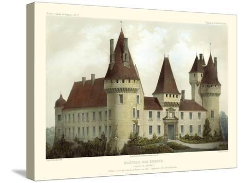 Petite French Chateaux I-Victor Petit-Stretched Canvas Print
