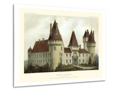 Petite French Chateaux I-Victor Petit-Metal Print