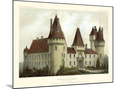 Petite French Chateaux I-Victor Petit-Mounted Art Print