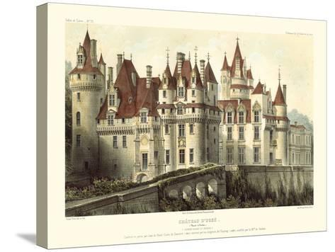 Petite French Chateaux VII-Victor Petit-Stretched Canvas Print
