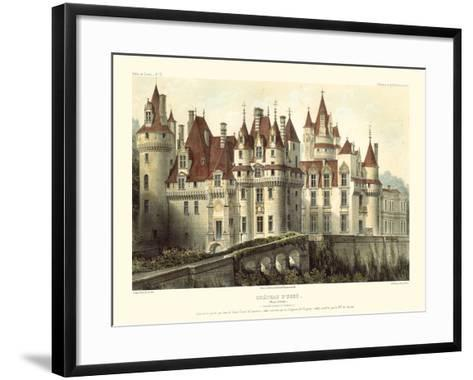 Petite French Chateaux VII-Victor Petit-Framed Art Print