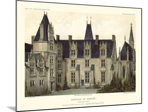Petite French Chateaux VIII-Victor Petit-Mounted Art Print