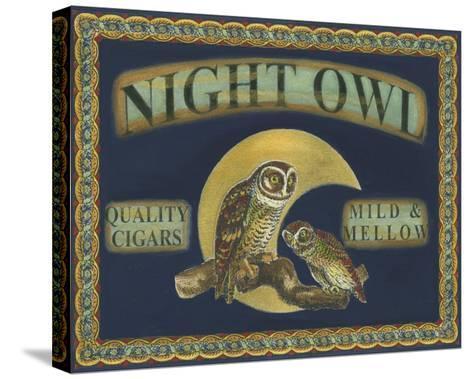Cigar Labels II--Stretched Canvas Print