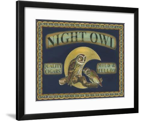 Cigar Labels II--Framed Art Print