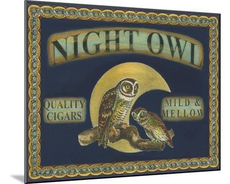 Cigar Labels II--Mounted Art Print