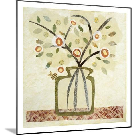 A Jar of Flowers I-Kate Endle-Mounted Premium Giclee Print