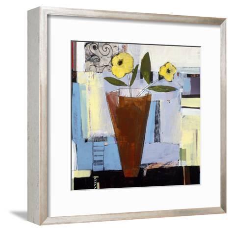 Yellow Flowers I-Charlotte Foust-Framed Art Print
