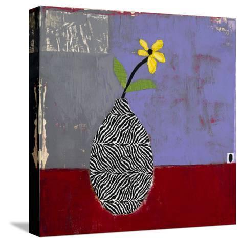 Yellow Daisy I-Charlotte Foust-Stretched Canvas Print