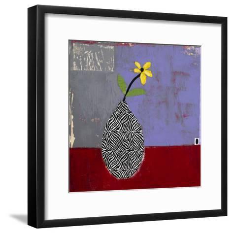 Yellow Daisy I-Charlotte Foust-Framed Art Print