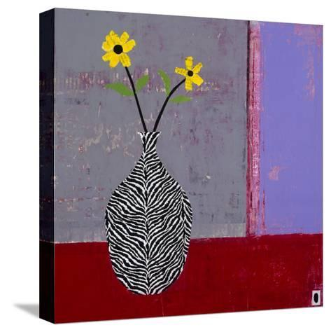 Yellow Daisy II-Charlotte Foust-Stretched Canvas Print