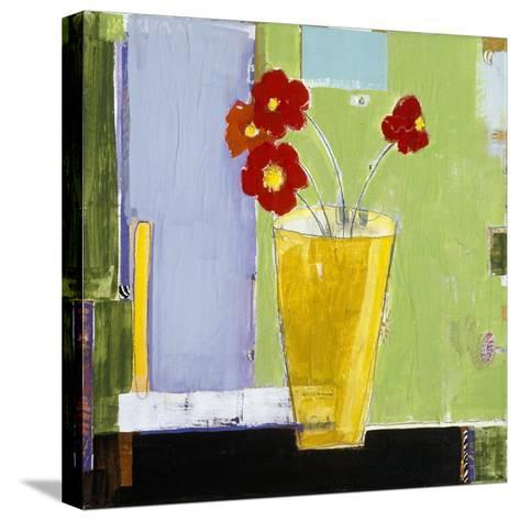 Red Bouquet I-Charlotte Foust-Stretched Canvas Print