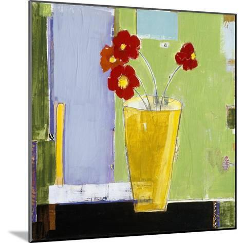 Red Bouquet I-Charlotte Foust-Mounted Premium Giclee Print