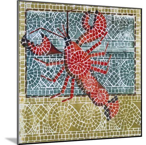 Mosaic Lobster-Susan Gillette-Mounted Premium Giclee Print