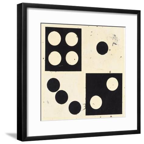 Roll The Dice I-Susan Gillette-Framed Art Print