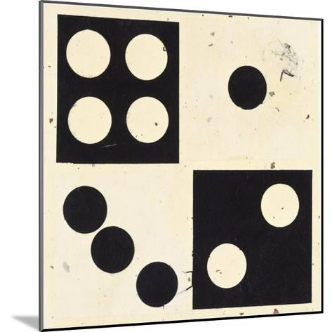 Roll The Dice I-Susan Gillette-Mounted Premium Giclee Print