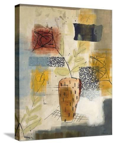 Flora II-David Dauncey-Stretched Canvas Print