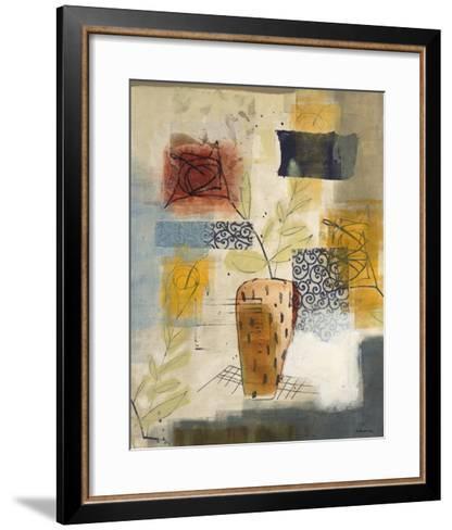Flora II-David Dauncey-Framed Art Print